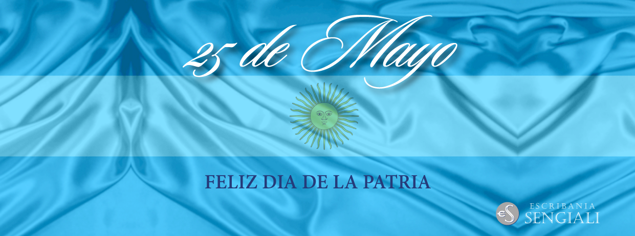 Feliz Día de la Patria